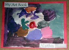 The Art Book Cover: Portfolio Assessment and Art Lessons for Kids: KinderArt Preschool Art Lessons, Art Lessons For Kids, Art Lessons Elementary, Primary School Art, Middle School Art, Book Cover Art, Book Art, Frozen Painting, Create Drawing