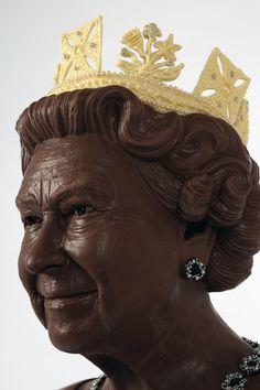 Jen Lindsey-Clark, 'Monarchoccy', see more at www.chocolatician.com  www.weststreetloft.co.uk