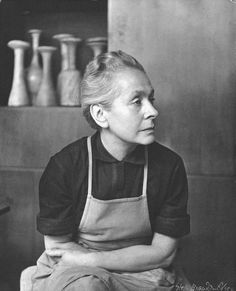 I first came across the work of Lucie Rie at the MOMA in NYC. I had come across other pretty pottery — white speckled plates and bowls (of…