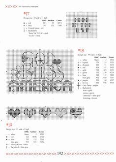 Gallery.ru / Фото #177 - 501 Cross Stitch Designs by Sam Hawkins - OlgaHS