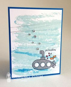 You're Sublime by Stamping Jo, hand stamped, hand made card, quick and simple card, masculine, boy,