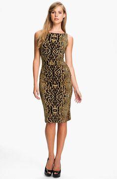 KAMALIKULTURE Print Shirred Dress (Online Exclusive) available at #Nordstrom