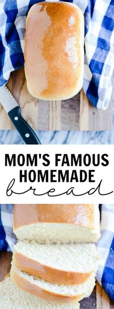 Mom's Famous Homemade Bread #cozyhome #DIY #notlowcarb