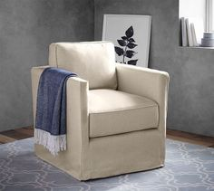 $314. today but only available in this color? SoMa Jessie Track-Arm Slipcovered Swivel Chair