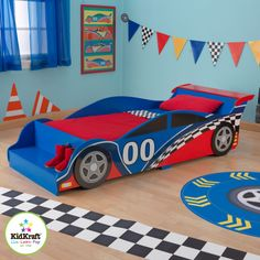 Does a race car bed provide any different service than a normal one? No, but the experience the child has in it is what draws customers.