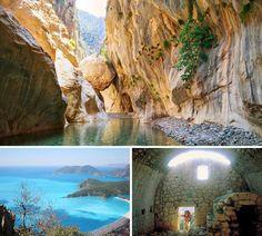Le chemin de Licia (Licia, Turquie)