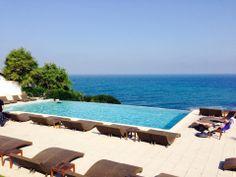 La Reserve Hotel restaurant très sympa avec piscine à Saint-Jean de Luz.