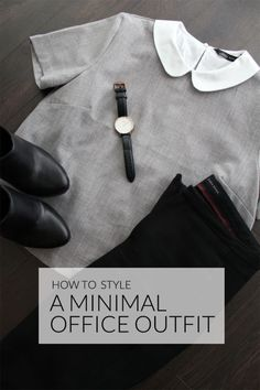 How To Style A Minimal Office Outfit | eBay