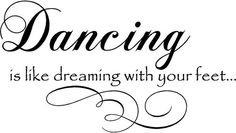 Dancing Dreaming   Wall Decals