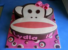 Paul Frank Birthday Cake