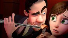 "CGI Animated Short HD: ""Brain Divided"" - by Josiah Haworth, Joon Shik So..."