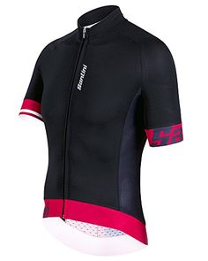Santini Sleek 20 Jersey ShortSleeve Mens Red XL    You can get more details  by 4e66fd3d3