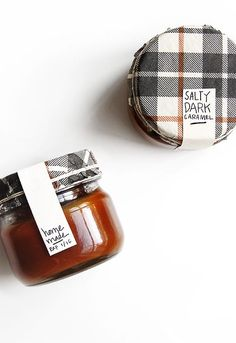 Edible Gift Guide + recipe for Salty Dark Caramel | @thefauxmartha