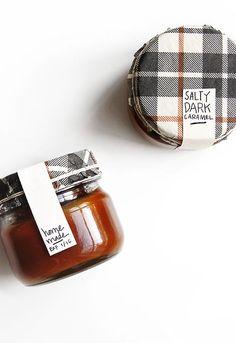 Edible Gift Guide + recipe for Salty Dark Caramel | @thefauxmartha