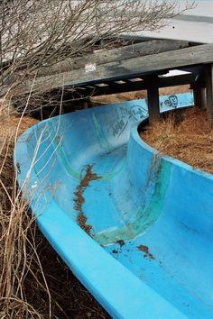 Abandoned water slide Jordan station, ontaria