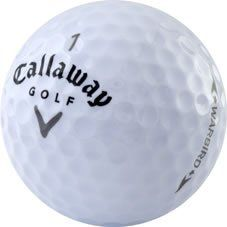 nice 60 Callaway Warbird Near Mint Used Golf Balls - 5 dozen