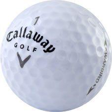 nice 60 Callaway Warbird Near Mint Used Golf Balls - 5 dozen