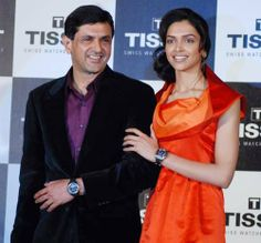 Did you know?: Actress Deepika Padukone is the daughter of badminton legend Prakash Padukone.  Any Likes for this father and daughter combination :)