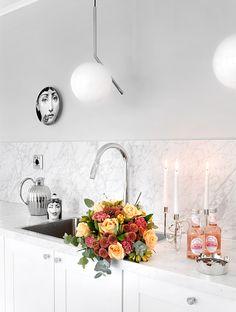 roomdeco.blogg.se Kitchenette, Kitchen Interior, Interior Inspiration, Kitchen Dining, Beautiful Homes, Interior Design, Mobile App, Sparkle, House