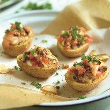 Gevulde aardappelen met zuiderse groente - telvrij - 3PP