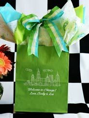 chicago wedding hotel guest bags | Javascript is required for the order form to function properly on this ...