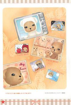 Tachibana Higuchi, Gakuen Alice, Graduation - Gakuen Alice Illustration Fan Book, Mr. Bear