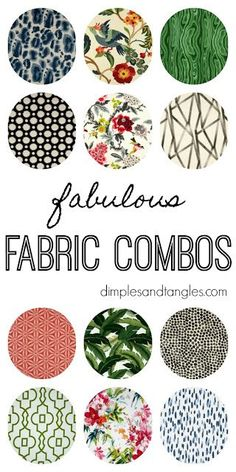 Ideas For Painting Furniture Fabric Patterns Pattern Paper, Fabric Patterns, Color Patterns, Mixing Patterns Decor, Pattern Mixing Outfits, Fabric Decor, Fabric Design, Pattern Design, Cheap Living Room Sets