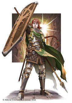 f Paladin Plate Armor Shield Cloak Spear Sword lvl ArtStation - AEG's Guildhall Fantasy, Gunship Revolution Fantasy Heroes, Fantasy Male, High Fantasy, Fantasy Warrior, Fantasy Rpg, Medieval Fantasy, Fantasy Artwork, Fantasy Character Design, Character Creation