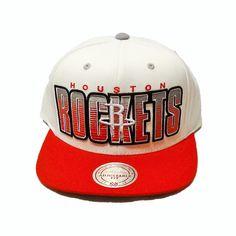 df629374984 Houston Rockets Mitchell   Ness Snapback Hat Gray Houston Rockets Hat