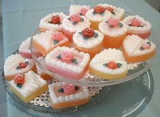 Shabby chic/vintage cakes soap. If I were able to pull off the whole living doll thing for real, this might be part of my persona. All things (soaps, trinket boxes, etc.), shaped like cupcakes and petit fours!