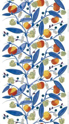 surface pattern | Paratiisi (Paradise), designed by Fujiwo Ishimoto for Marimekko