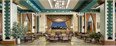King David Jerusalem #HotelDesign #HotelLobby