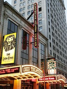 Playhouse Square - Cleveland, Ohio. Largest performing arts center outside of NYC.
