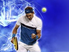 Wallpaper of Rafael Nadal Wallpaper for fans of Tennis 7220782 Tennis Wallpaper, Rafael Nadal, Tennis Players, Nike, Sports, Mens Tops, Pictures, People, Fashion