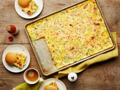 Recipe of the Day: Sheet-Pan Bacon Egg Sandwiches Recipe of the Day: Sheet-Pan Bacon Egg Sandwiches When you fry your bacon and cook more than a dozen eggs right on a sheet pan in the oven, you can make 16 breakfast sandwiches all at once, in addition to cutting the time you would have spent flipping eggs. Simply slice up the eggs and pile onto toasted potato roll — and don't forget the hot sauce.