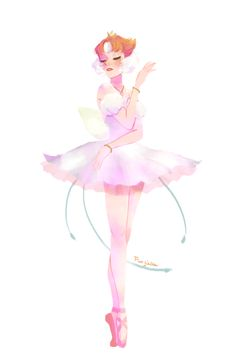 BUGGRE ALLE THIS FOR A LARKE, paulinaandthegems:   I drew Pearl as Ahiru from...