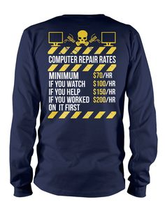 Pick your favorite style: Are you a proud Computer Technician? Now you can show…