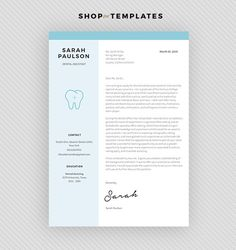 resume template cv template cover letter for ms word and