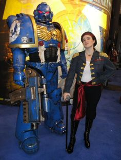 Ultramarine and Rogue Trader by ChristinaGleason.deviantart.com on @deviantART