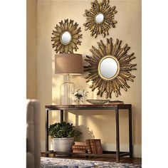 another sunburst mirror vignette