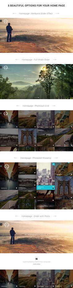 Chitra – Photography Portfolio WordPress Theme