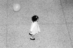 Little Girl and a Balloon