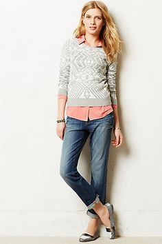 Got these! They're so comfortable. And are going to go with EVERYTHING. Pilcro Hyphen Relaxed Jeans #anthropologie