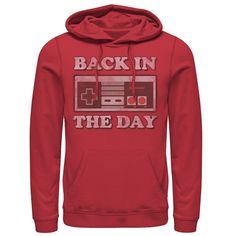 Nintendo Controller, Nintendo Systems, Back In The Day, Hoodies, Fighting Irish, Color Red, Notre Dame, Gender, Pocket