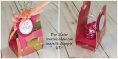 Glitter Queen Blog Hop -Lindt Lindor Truffle Holder | Create With Dee