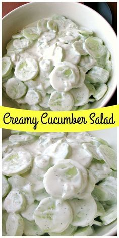 This creamy cucumber salad with fresh cucumbers, onions, and sour cream is a cool, refreshing salad and this is great for low carb cookouts or light dinners Source: http://www.rantsfrommycrazykitchen.com