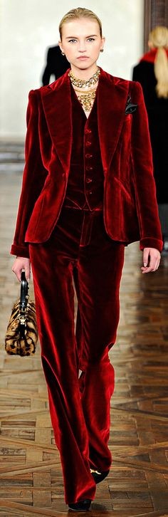 ✪ Ralph Lauren - Ready-to-Wear - Fall-Winter 2012-2013 ✪
