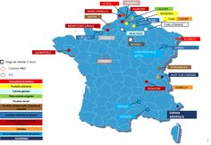 Les Usines Nestle en France