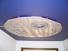 Star Wars Death Star Ceiling Light treatment. Totally cool.