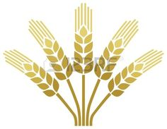 Wheat Ear Icon Wheat Design Royalty Free Cliparts, Vectors, And ...